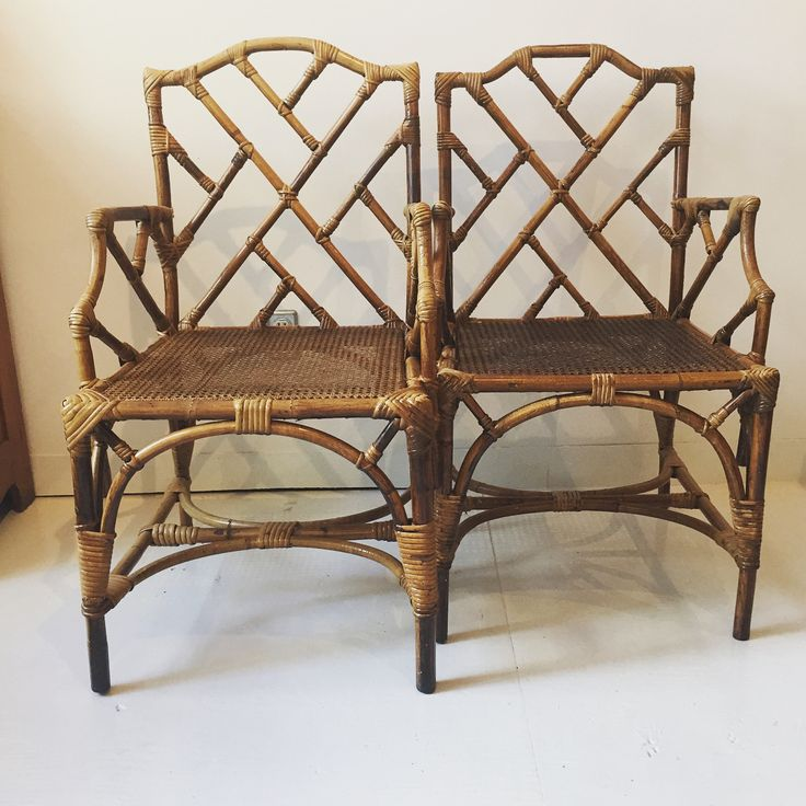 "Kevin J Austin on Instagram: ""Seating for two, pair of Chippendale style bamboo armchairs 21x21x36H at seat 18H $265.00each #citycountrycottage #decor #design…"""