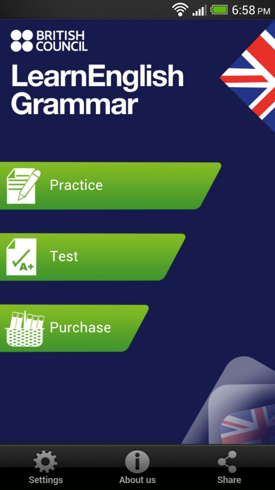 Free English Grammar App | British Council