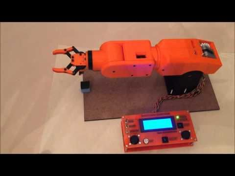 Arduino Robot Arm - A2 Systems and Control Project - Sam Mottershead - YouTube