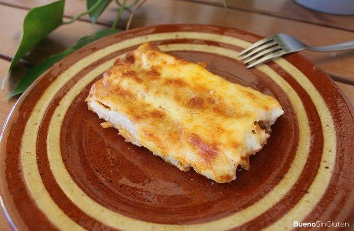 Receta de canelones sin gluten #singluten #glutenfree