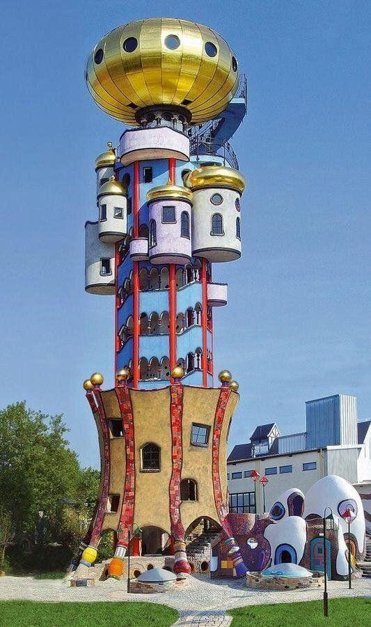 Friedensreich Hundertwasser-Turm  Abensberg, Germany,  Ende September  mach ich dort eigene Fotos  ☺