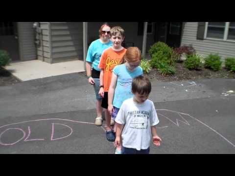 Books of the Bible Game Idea for Kids. Watch this video to learn a simple game that will help kids review the books of the Bible. Specifically, this game will allow them to practice where books belong in the Bible. The setup is rather simple, all you need is sidewalk chalk and a place to play.