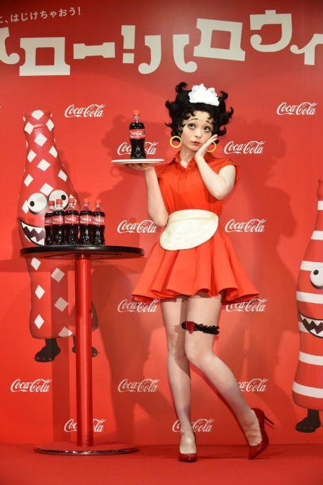 Kyary Pamyu Pamyu as Betty Boop