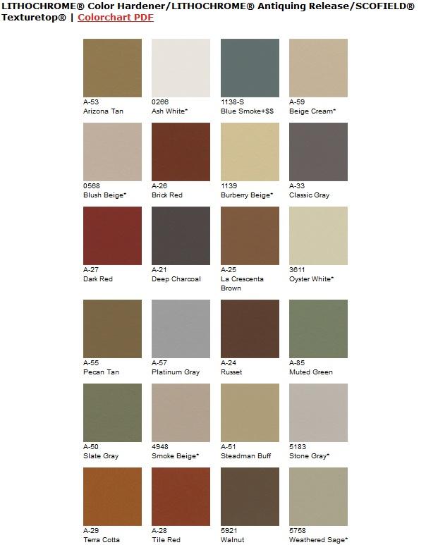 Explore Twenty Four Coloring Options For Stamped Concrete