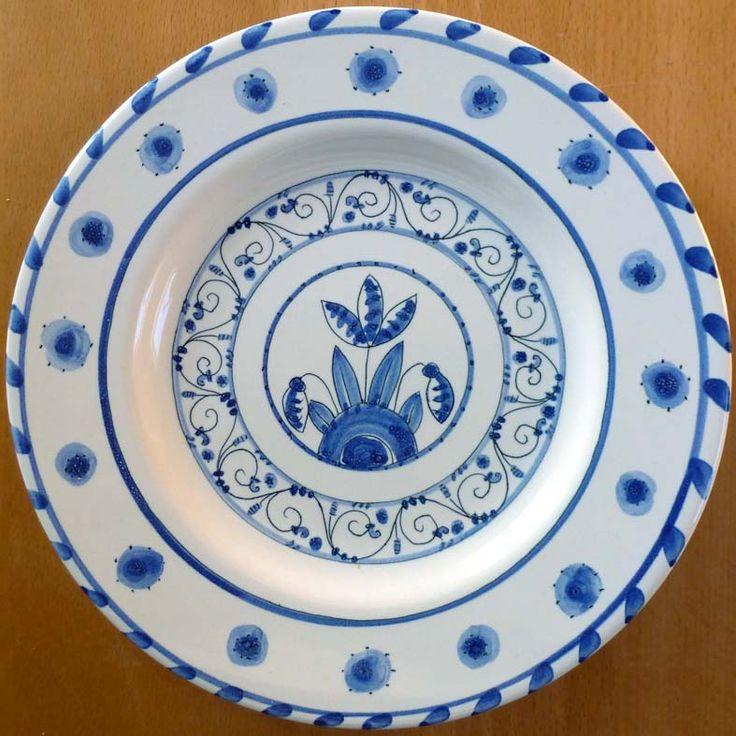 Delft plate by Carlo Bricscoe