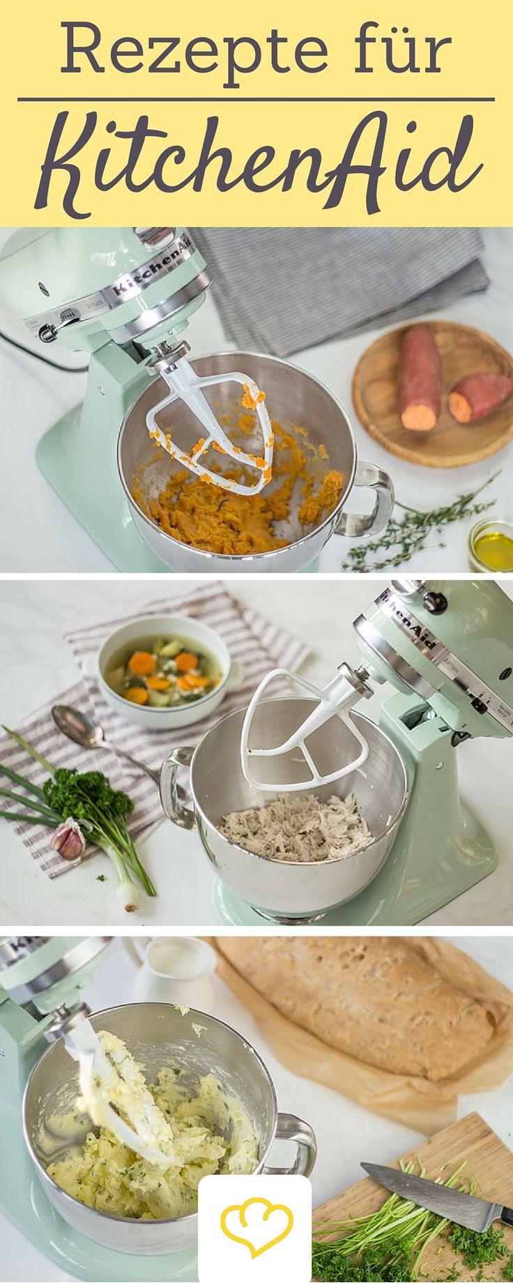 Die KitchenAid ist ein echter Alleskönner! Diese Rezepte müsst ihr unbedingt probieren!