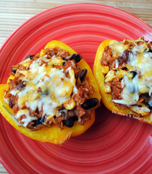 Vegetarian Stuffed Peppers | Stuffed Peppers, Vegetarian Stuffed ...