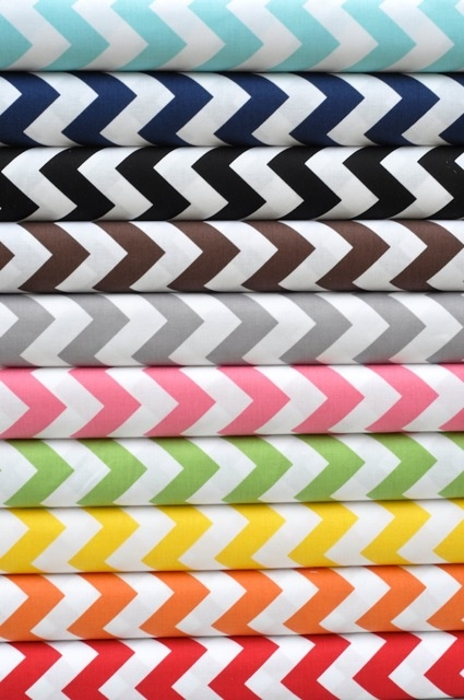 Riley Blake - Chevron, never tired of these prints