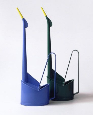 Wilhelm Kienzle; Enameled Metal 'Cactus' Watering Cans for MEWA, 1935