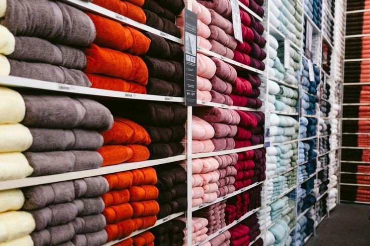 Wamsutta towels for Amanda Miller's Bed Bath & Beyond wedding registry
