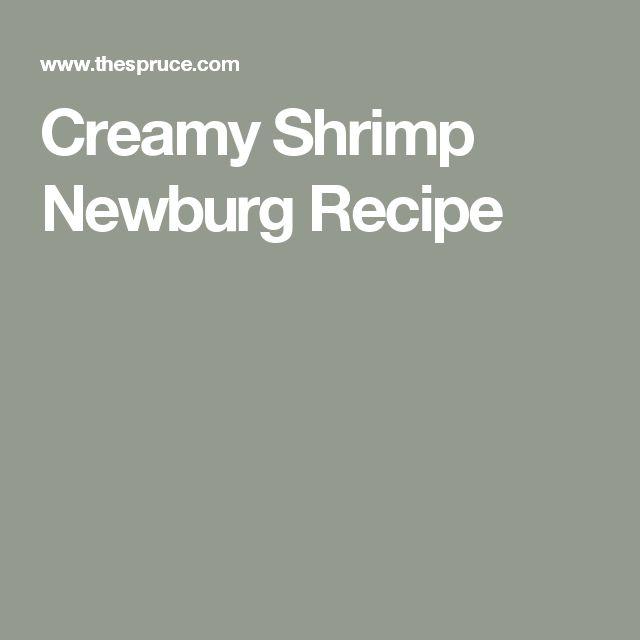 Creamy Shrimp Newburg Recipe