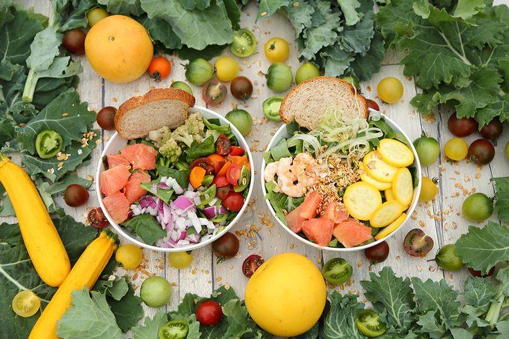 グリーンブラザーズ夏の限定サラダは爽やかなピンクグレープフルーツ入り