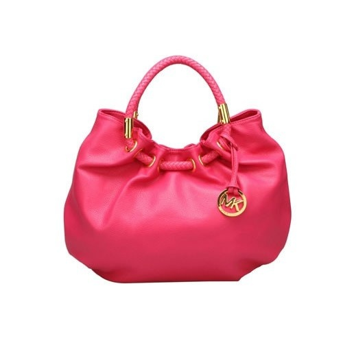 Welcome to Michael Kors Outlet Online Store, Larger Discount! Cheap Michael  Kors Skorpios Ring Tote Hot Pink Save Much 155759 [MK Outlet Online -