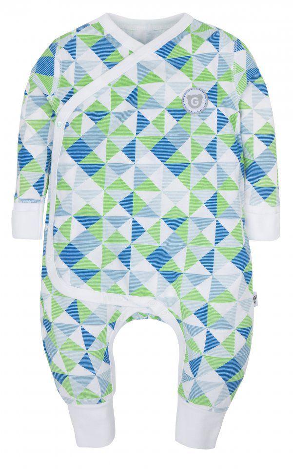 GMINI PLUS-spací overal D modrá potisk | Kašpárek Baby