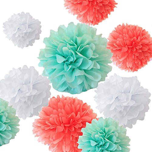 how to make tissue paper decoration balls