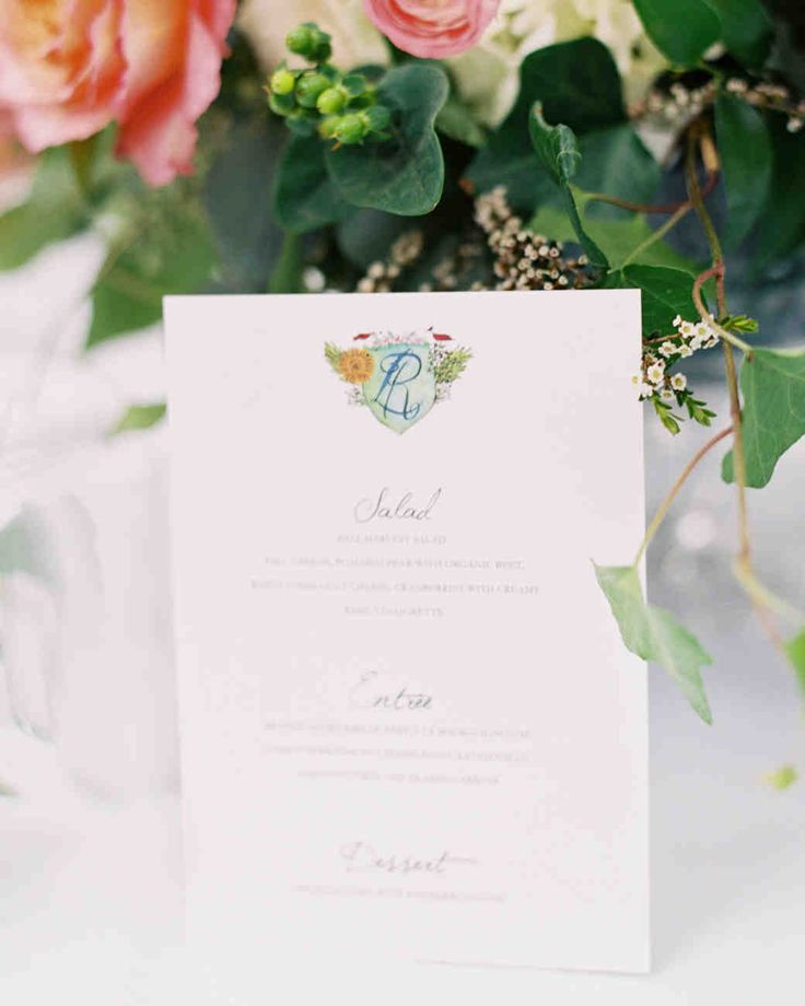 lotus flower wedding invitations%0A A Fashionable CountryClub Wedding in St  Louis   Martha Stewart Weddings   With