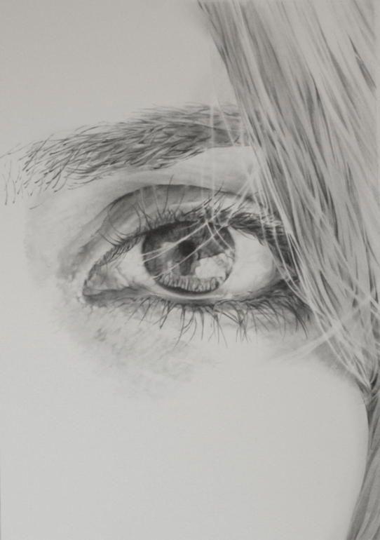 Рисунок для души карандашом, надписью хватит дуться