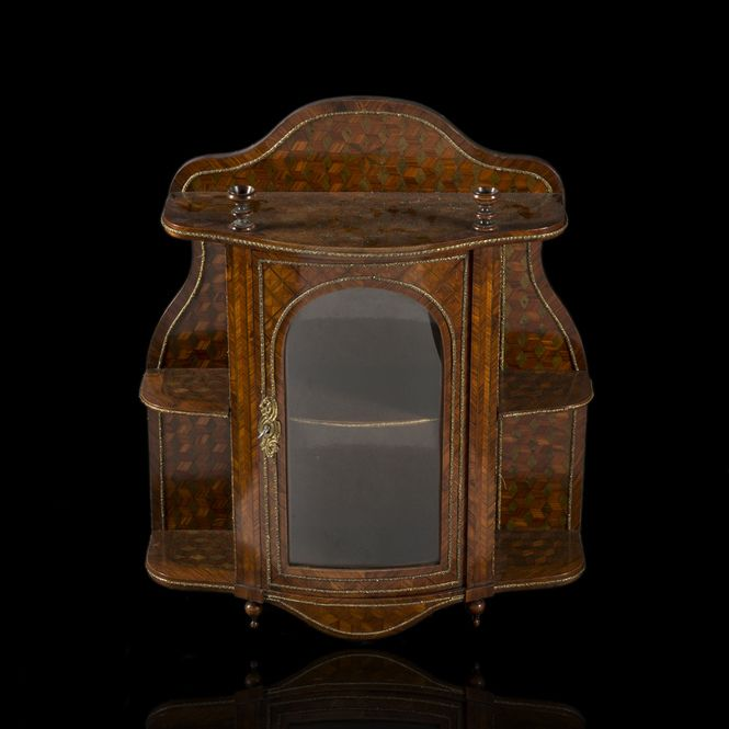 Small wall mounted cabinet. Giroux Company, Paris #BuyArtOnline #Expertissim