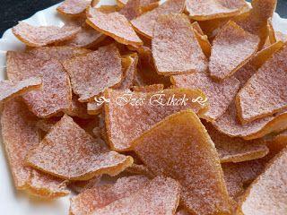 Ízes étkek: Cukrozott narancshéj