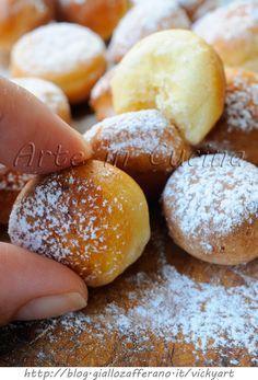 Palline dolci lievitate ricetta sfiziosa per feste vickyart arte in cucina