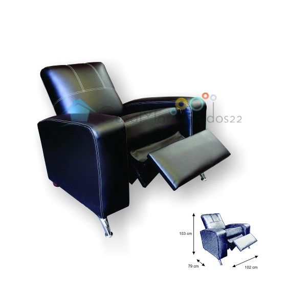 Sillon reposet reclinable galicia sillones reclinables for Sillon reclinable