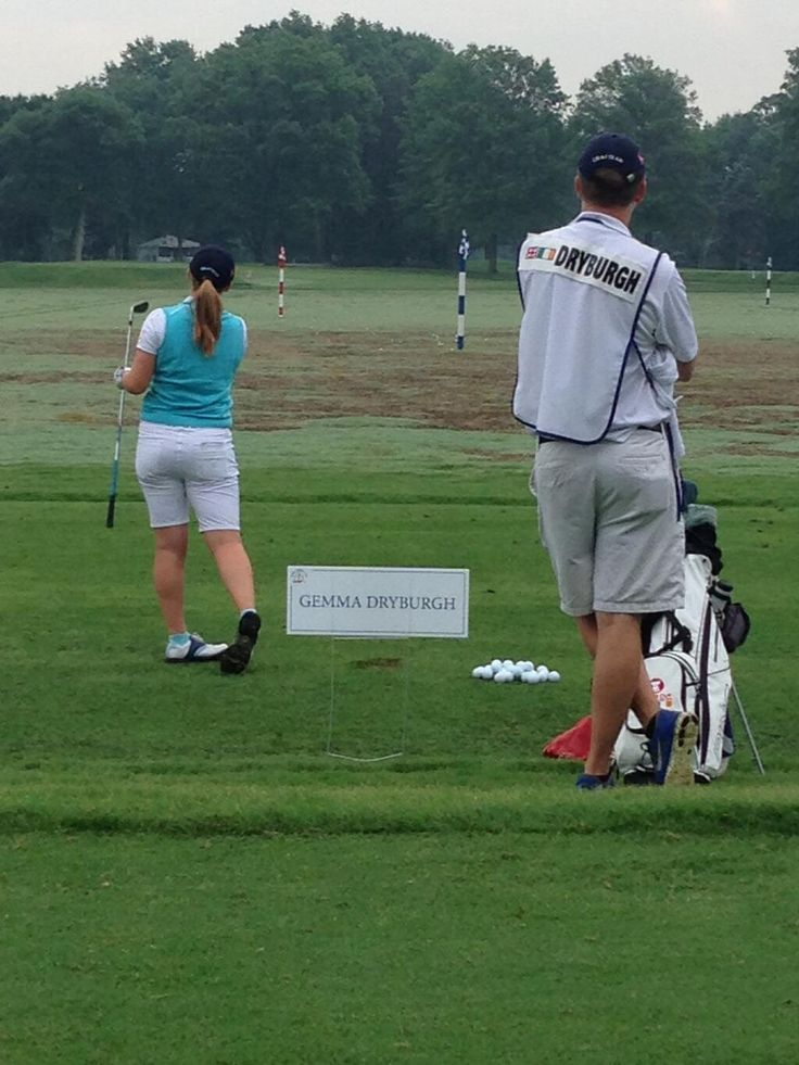 #Tulane's Gemma Dryburgh is competing in the Curtis Cup for the GB&I team today. Here she is on the range. pic.twitter.com/c4m06xlQRE