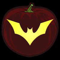 25 best ideas about bat stencil on pinterest bat silhouette bat template and halloween - Breathtaking halloween decoration using batman pumpkin carving ...