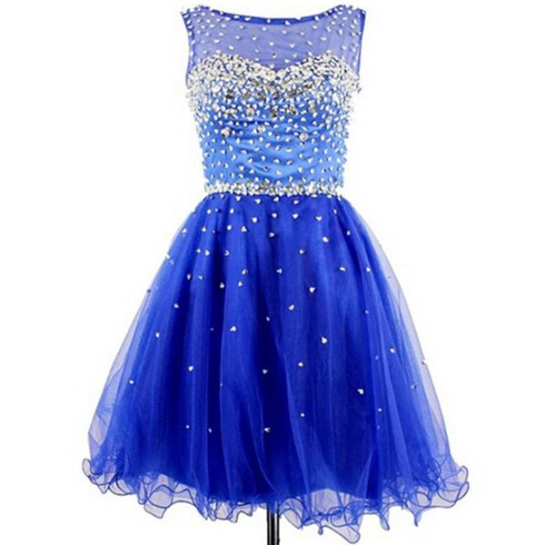 short Homecoming Dresses, blue Homecoming Dress, cheap homecoming