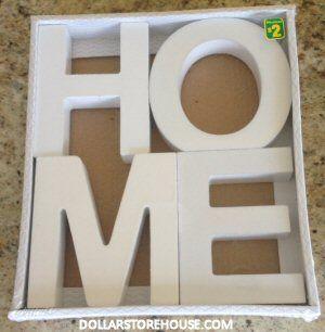 dollarama deals home amp love decor letters