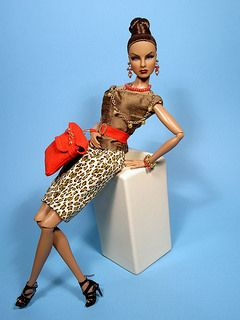 """""""Urban Safari"""" through the years made by tess-Creations for Fashion Royalty"""