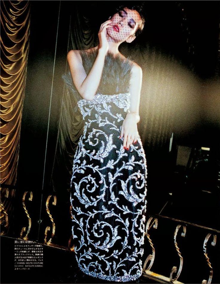 Vogue Japão Dezembro 2014 | Tao Okamato por Jiro Konami [Couture]