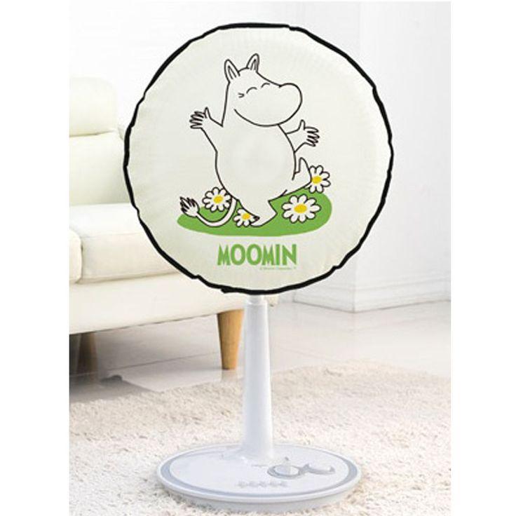 Moomin Character Electric Fan Felt Cover Diameter 48cm 19in Happy #Hongok