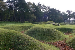 Visiting the Canadian War memorial at Vimy Ridge, France