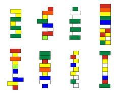 lego kit cards free printables. Kids build lego to match the patterns on the cards: