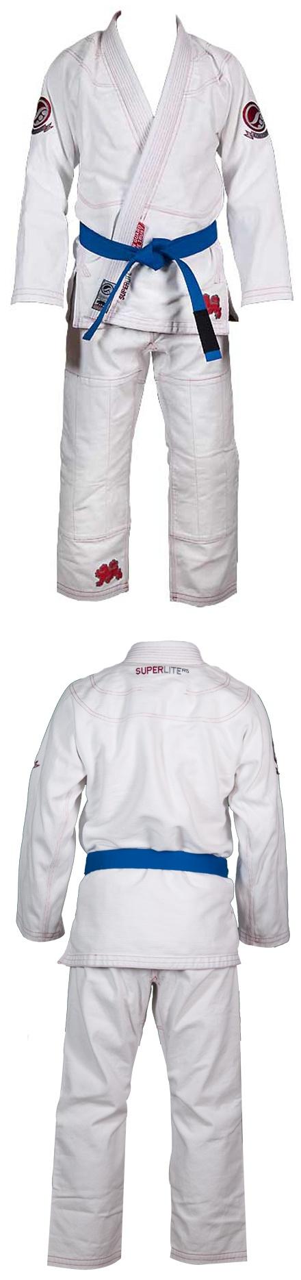 Budovideos.com - Shoyoroll Brand Limited Edition Super Lite White BJJ Kimono (A5 ONLY)