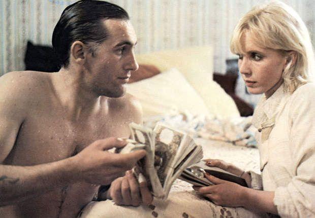 "Gerard Depardieu and Bulle Ogier in ""Maîtresse"" by Barbet Schroeder"