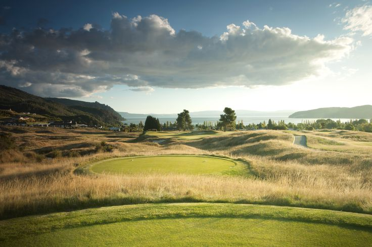 The 15th hole at The Kinloch Club Golf Course