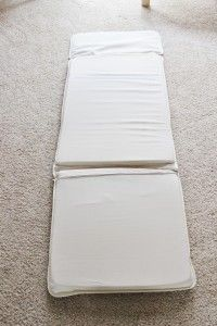 Step by Step for Ikea Poang slipcover