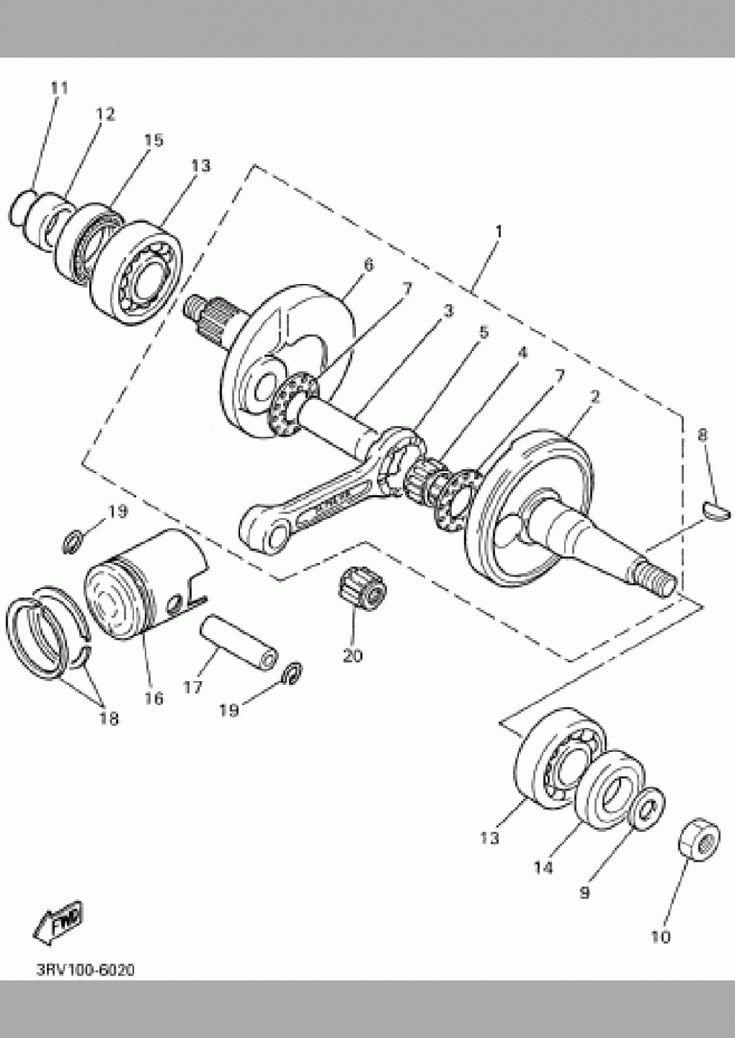 Yamaha Pw6 Engine Diagram di 2020