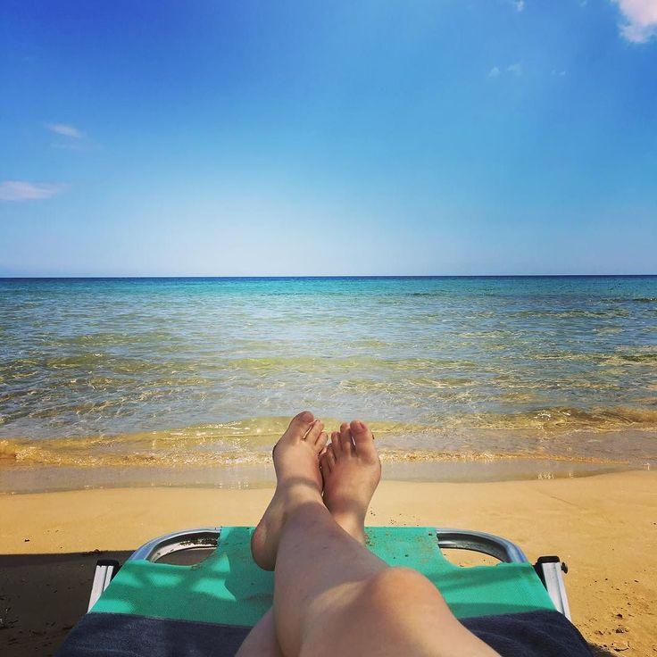 Classica foto per provocare invidia  #FB #relax #igerscrete #igersgreece #greece #grecia2016 #ig_greece #ig_crete #georgioupolis #chaniacrete #ig_summer #instatravel #traveldiaries #travelingram #ig_seaside #vacanze2016 #seaview