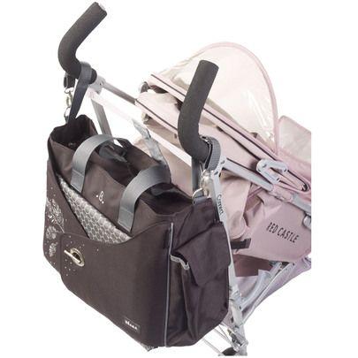 Sac Nursery My Baby Bag Marron / Vert de Beaba, Sacs à langer : Aubert