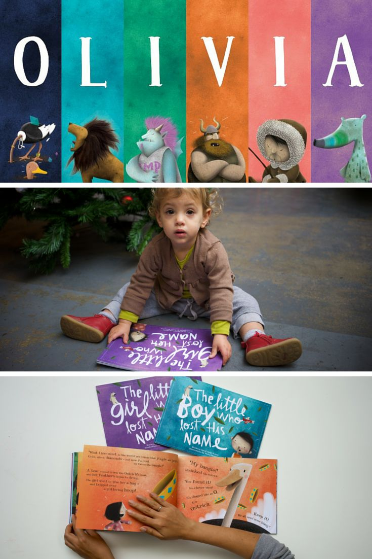 Olivia met an Ostrich, a Lion, an Imp, a Viking, an Inuit and an Aardvark in her magical and marvelous Lost My Name story. What adventures will your child have in theirs? | Lost My Name personalized children's books are an ideal gift for little ones