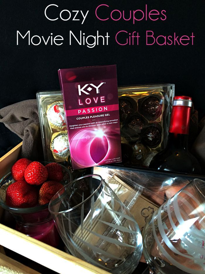 Make your own Cozy Couples Movie Night Gift Basket #KYTrySomethingNew #ad
