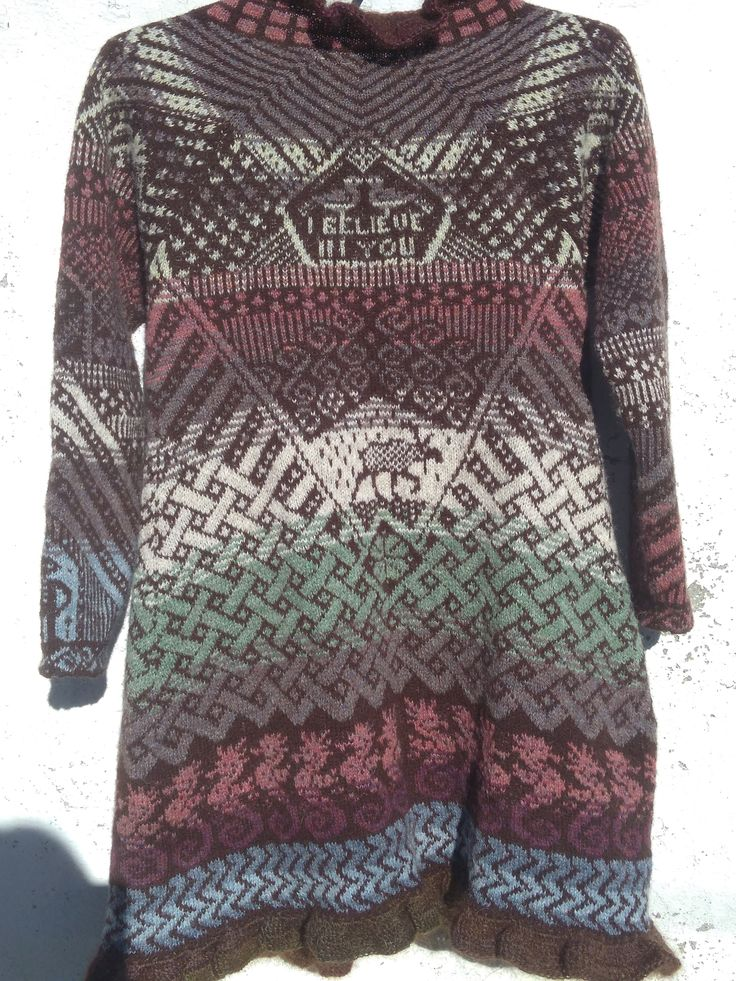 Fly with me cardigan back