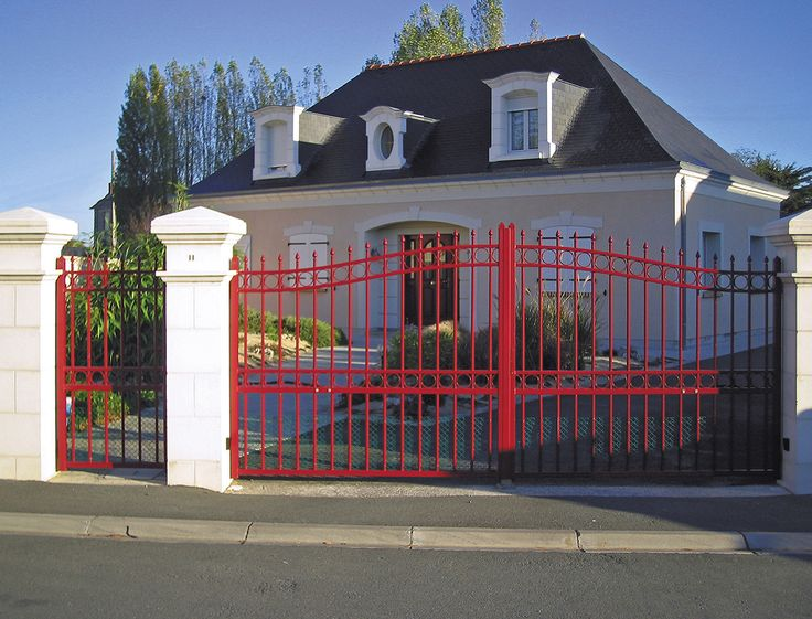 Portail tradition aluminium mod le billancourt portillon for Portail plus portillon