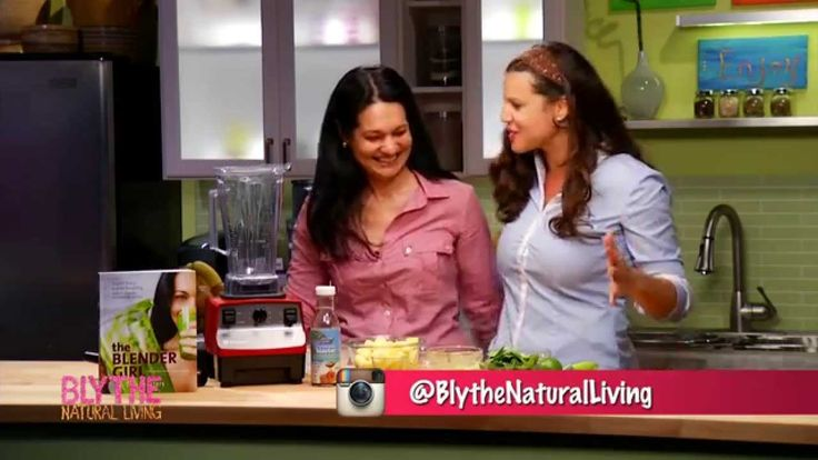 The Blender Girl's Pineapple Salsa Smoothie on Blythe Natural Living