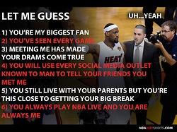 LeBron James Memes Funny Humor Pics   NBAHotShots.com