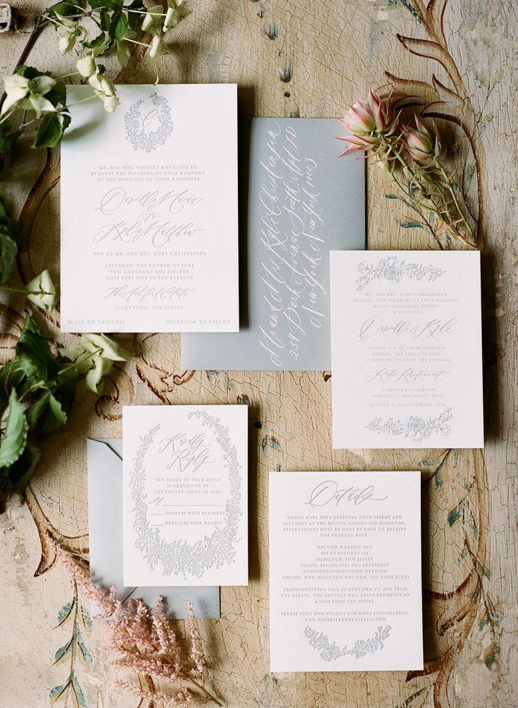 how much do invitations for wedding cost%0A Two Fashion Buyers Tie the Knot in Style  Floral Wedding InvitationsEvent