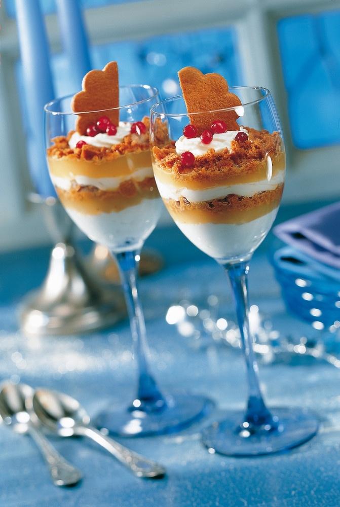 Pipariset omenakerrosmaljat | Muut jälkiruoat | Pirkka #joulu #christmas #food