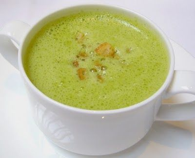 Asparagus Norwegian Soup with Thermomix